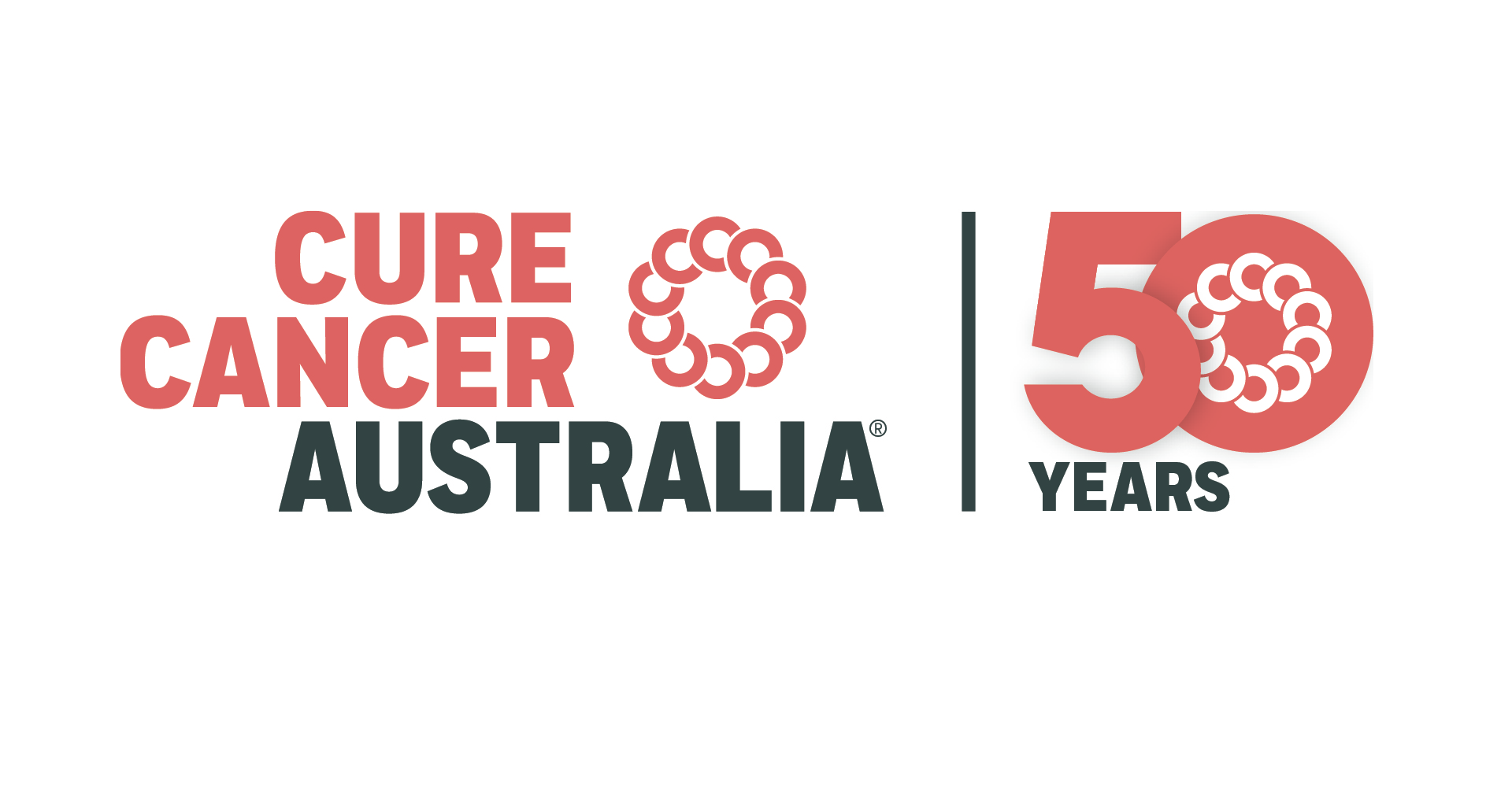 Cure Cancer 50years Logo large
